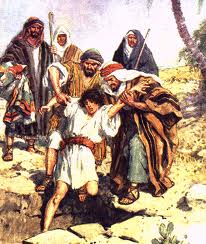joseph cast into a pit by his brothers