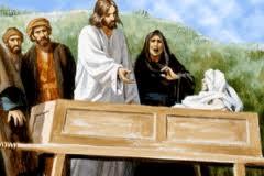 The son of the widow at Nain